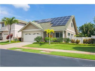 Ewa Beach Single Family Home For Sale: 91-720 Launahele Street