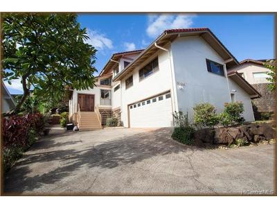 Aiea Single Family Home In Escrow Showing: 99-644 Hoio Street