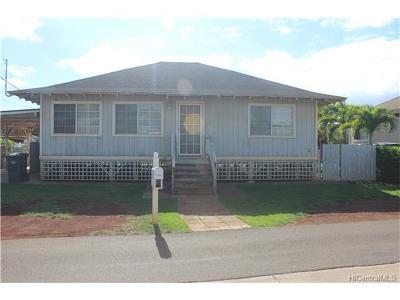 Ewa Beach Single Family Home In Escrow Showing: 91-1648 Alaiki Street