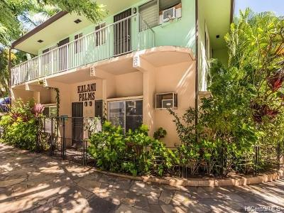 Honolulu Multi Family Home For Sale: 2480 Kuhio Avenue