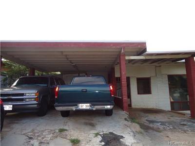 Kapolei Single Family Home For Sale: 92-645 Malahuna Loop
