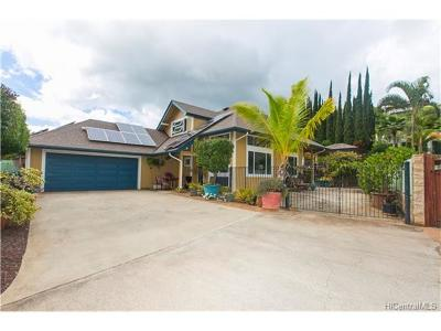 Kapolei Single Family Home For Sale: 92-328 Hookili Place