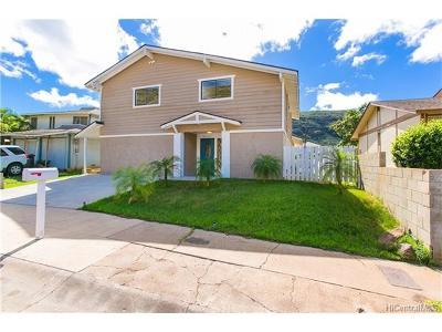 Waianae Single Family Home For Sale: 86-329 Kauaopuu Street