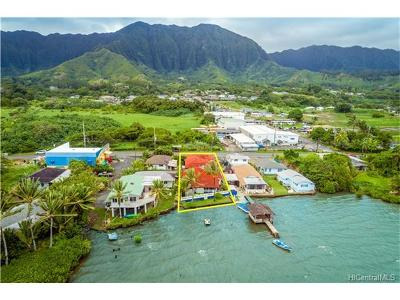 Kaneohe Single Family Home For Sale: 47-659 Kamehameha Highway