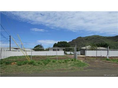 Waianae Residential Lots & Land For Sale: 84-713 Hanalei Street