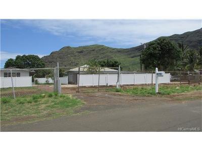 Waianae Residential Lots & Land For Sale: 84-713 B Hanalei Street