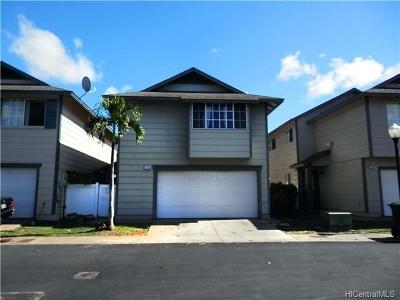 Ewa Beach Single Family Home For Sale: 91-1059 Puwalu Street #75