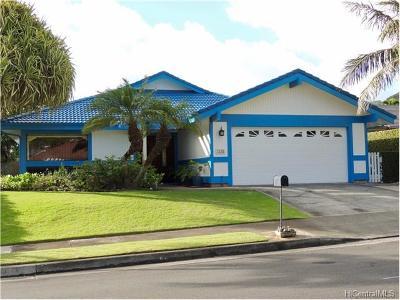 Single Family Home For Sale: 7535 Kahakuloa Place