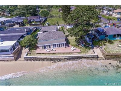 Hauula Single Family Home For Sale: 53-509 Kamehameha Highway