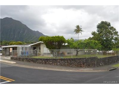 Kaneohe Single Family Home For Sale: 46-275 Heeia Street