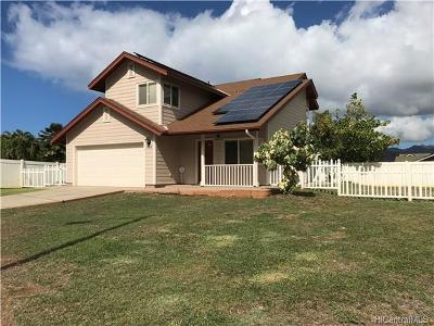 Waianae Single Family Home In Escrow Showing: 87-1076 Oheohe Street