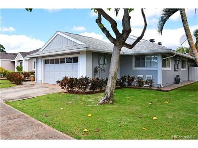 Waipahu Single Family Home For Sale: 94-1020 Eleu Street