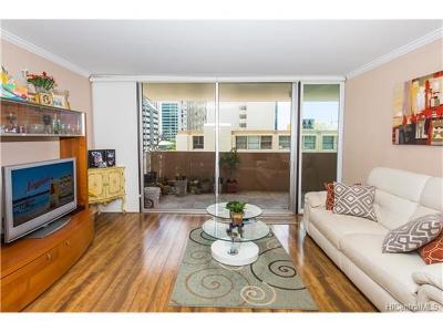 Honolulu Condo/Townhouse For Sale: 1561 Kanunu Street #604