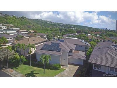 Honolulu HI Single Family Home For Sale: $1,398,000