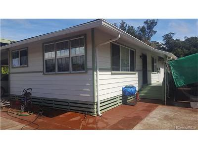 Wahiawa Single Family Home In Escrow Showing: 1129 Neal Avenue