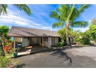 Aiea Single Family Home For Sale: 98-1049 Mahola Place