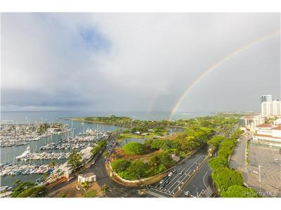 Hawaii County, Honolulu County Condo/Townhouse For Sale: 1600 Ala Moana Boulevard #2310