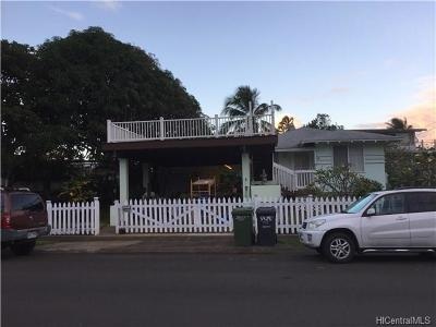Hauula Single Family Home For Sale: 54-247 Honomu Street