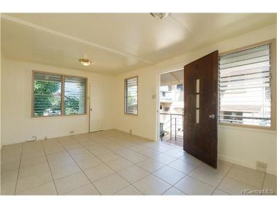 Honolulu Single Family Home For Sale: 1639 Alaneo Street