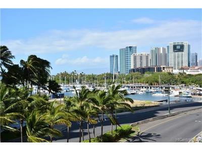 Honolulu Condo/Townhouse For Sale: 1690 Ala Moana Boulevard #505
