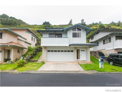 Aiea Single Family Home For Sale: 99-852 Holoai Street