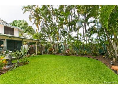 Kailua Single Family Home For Sale: 410 A1 Manono Street
