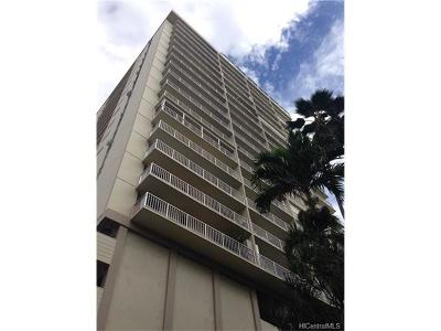 Honolulu Condo/Townhouse In Escrow Showing: 2452 Tusitala Street #806