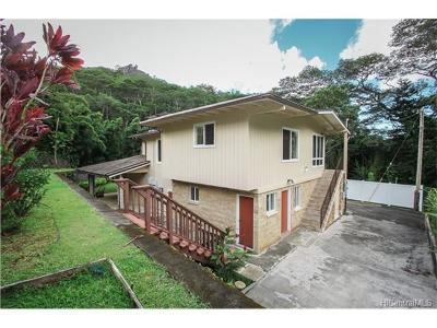 Honolulu Single Family Home For Sale: 3531 Kalihi Street