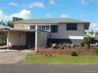 Pearl City Single Family Home For Sale: 1428 Maluawai Street