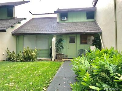 Condo/Townhouse For Sale: 553 Pepeekeo Street #5 (553-5