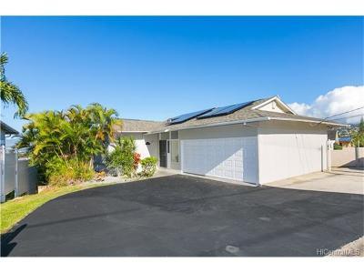 Single Family Home For Sale: 1574 Molehu Drive