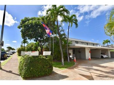 Honolulu County, Hawaii County Condo/Townhouse For Sale: 1228 Hunakai Street #B
