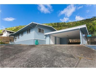 Honolulu Single Family Home For Sale: 1634 Ala Lani Street