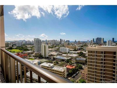 Honolulu Condo/Townhouse For Sale: 1630 Liholiho Street #1804