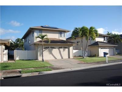 Ewa Beach Single Family Home For Sale: 91-533 Maohaka Place