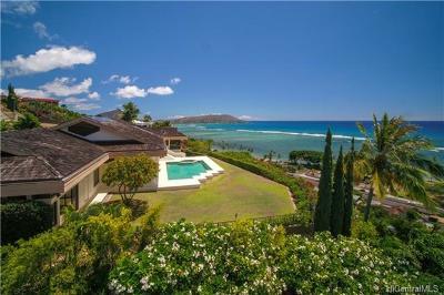 Honolulu Single Family Home For Sale: 231 Puuikena Drive