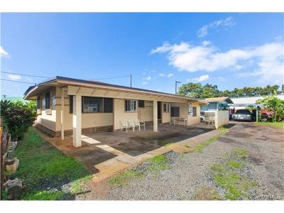 Honolulu Single Family Home In Escrow Showing: 1302 Arsenal Road #A