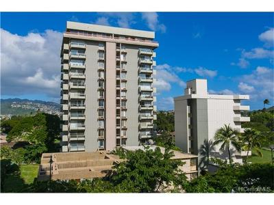 Honolulu Condo/Townhouse For Sale: 240 Makee Road #8-B