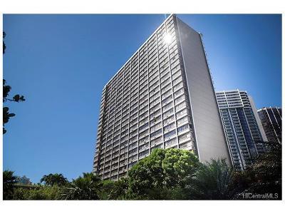 Honolulu Condo/Townhouse For Sale: 055 Kukui Street #D1404