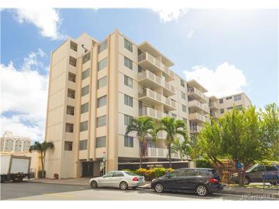 Honolulu Condo/Townhouse For Sale: 1655 Kanunu Street #505