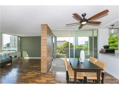 Honolulu Condo/Townhouse For Sale: 1521 Punahou Street #602