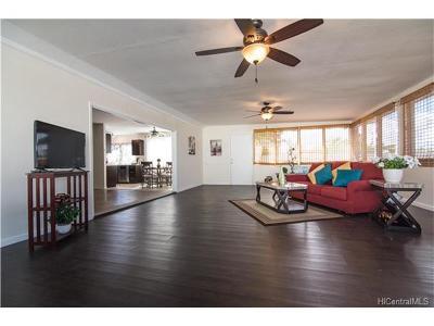 Mililani Single Family Home In Escrow Showing: 95-076 Kuahelani Avenue