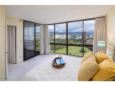 Honolulu Condo/Townhouse For Sale: 990 Ala Nanala Street #19A