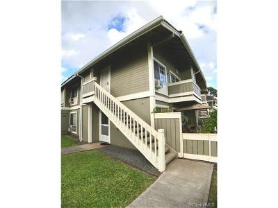 Waipahu Condo/Townhouse For Sale: 94-1382 Kulewa Loop #44T