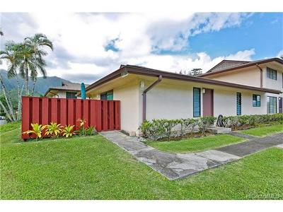 Kaneohe Condo/Townhouse In Escrow Showing: 47-389 Hui Iwa Street #1