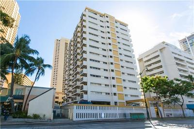 Honolulu Condo/Townhouse For Sale: 2465 Kuhio Avenue #1604