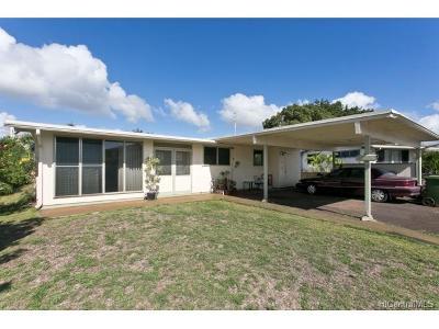 Single Family Home For Sale: 94-534 Loaa Street