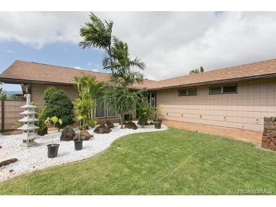 Mililani Single Family Home For Sale: 94-537 Maukuku Place