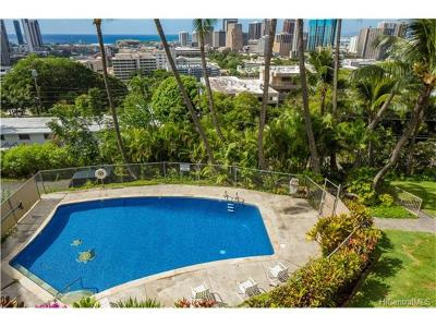 Honolulu Condo/Townhouse For Sale: 666 Prospect Street #310