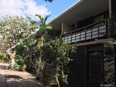 Honolulu Condo/Townhouse For Sale: 1700 Makiki Street #109
